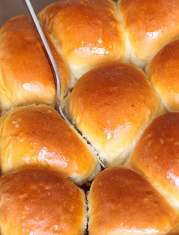 pull apart honey yeast rolls