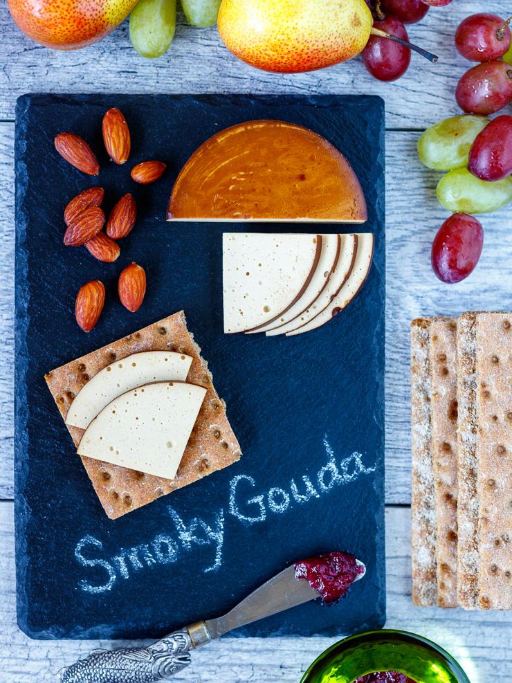 healthy smokey gouda cheese