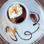 decadent dark chocolate dessert