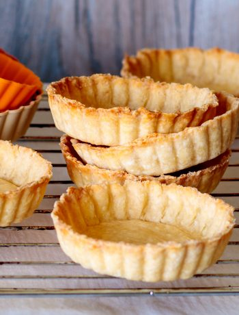 easy pie crust flaky tart shells