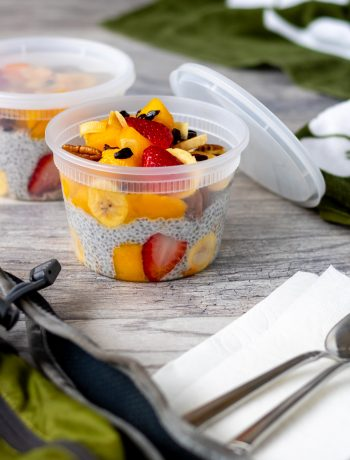 natures chia pudding breakfast