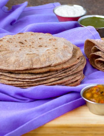 soft whole wheat chapati