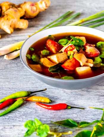 thai style hot and sour soup