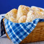 No-knead rolls. Easy recipe artisan bread.